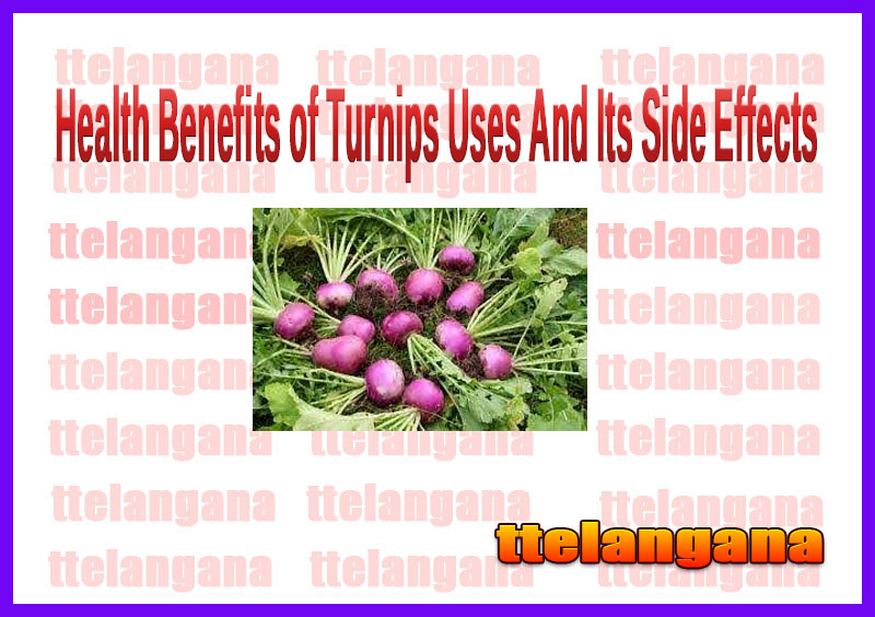 Health Benefits of Turnips Uses And Its Side Effects