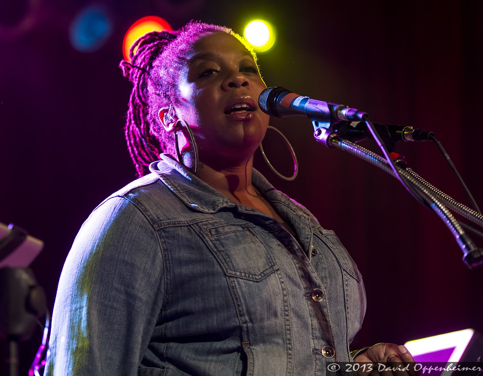 Crystal Monee Hall with The Mickey Hart Band