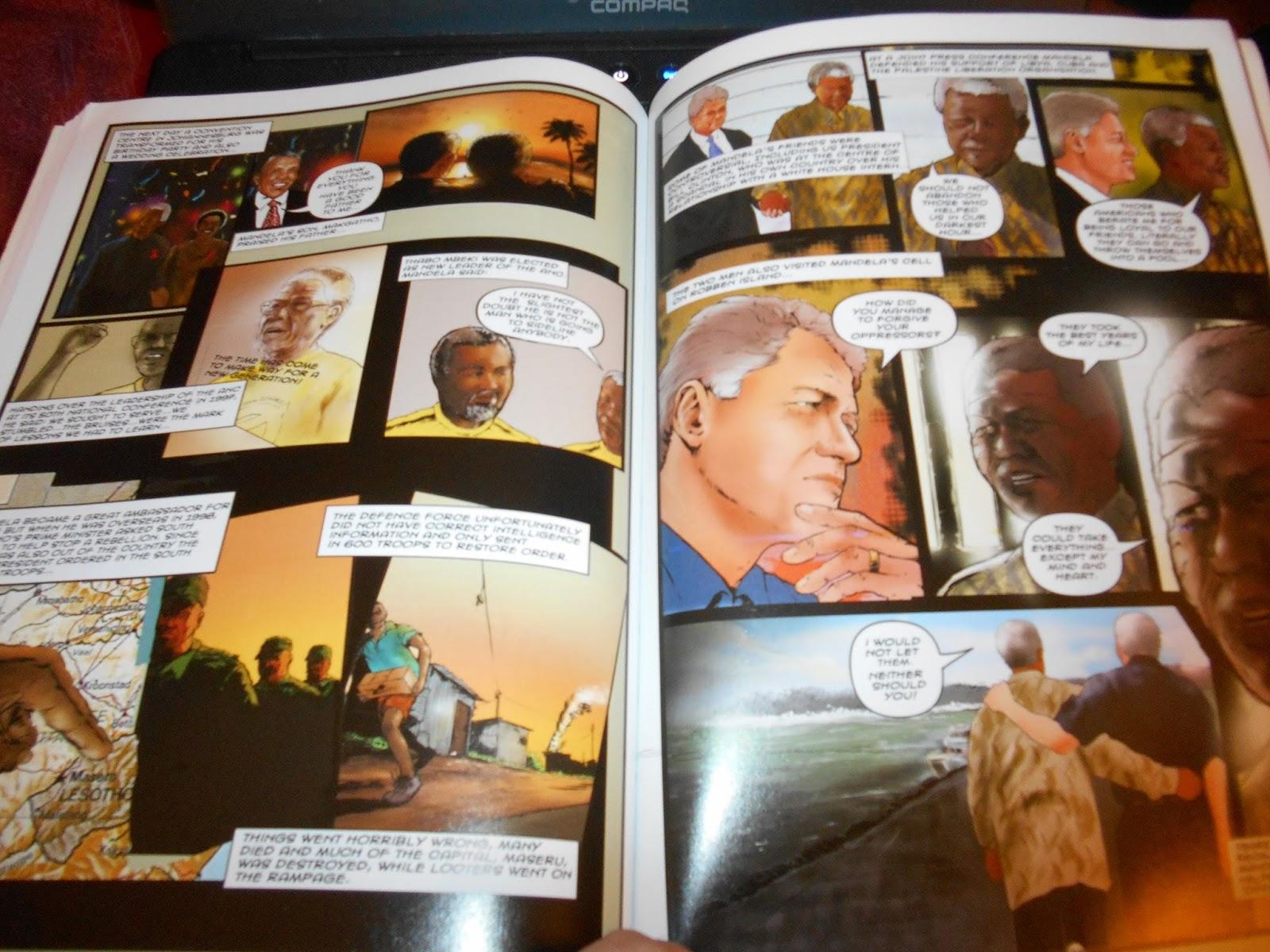 Madhouse Family Reviews Nelson Mandela