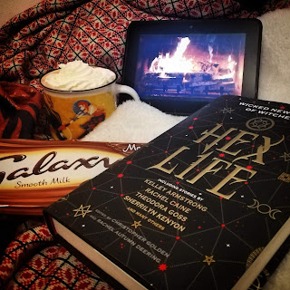 Books and hot chocolate