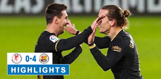 Granada vs Barcelona Highlights