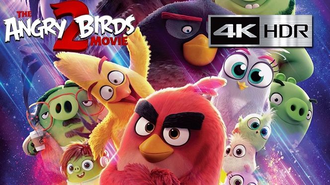 Angry Birds 2, La Película (2019) 4K UHD [HDR] Latino-Castellano-Ingles