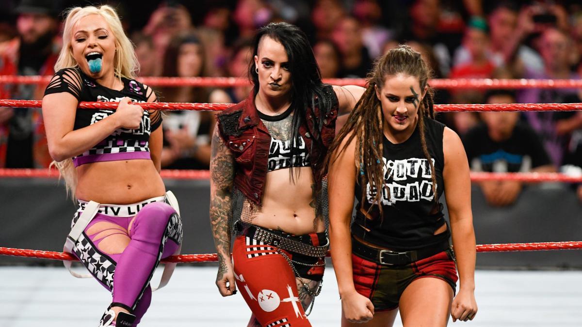 WWE nunca teve grandes planos para o Riott Squad
