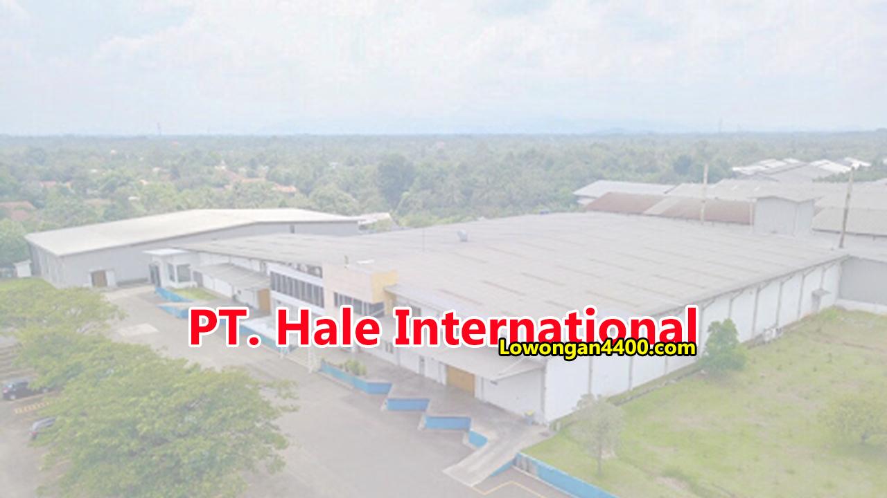 PT. Hale International