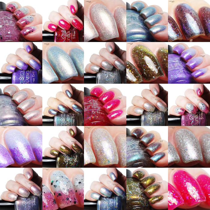 xoxoJen's swatch of LynB Designs Check out my Crystal...Gems collection