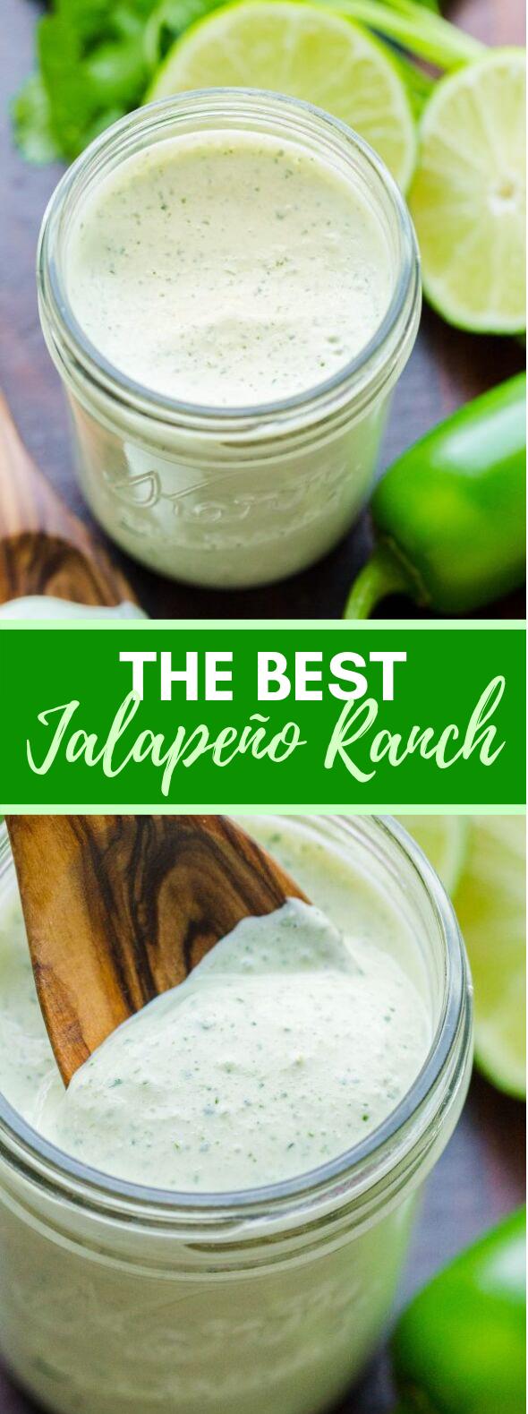 Jalapeño Ranch Recipe #dinner #glutenfree