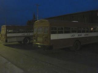All Aboard the Lazy Bear Bus.