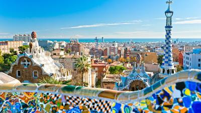 Kota Barcelona Di Spanyol
