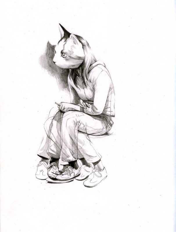 Рисунки Wesley Burt 17