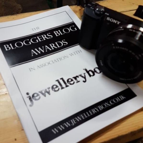Bloggers blog awards booklet and camera