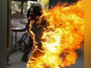 سوسة الكرنيش : حادثة أليمة فتاة تبلغ من العمر 20 سنة ,تضرم النار بجسدها