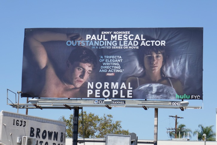 Paul Mescal Normal People Emmy nominee billboard