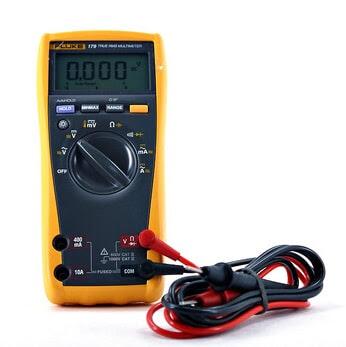 Fluke 179 True-RMS Digital Multimeter with 80BK ... |Fluke Multimeter 179