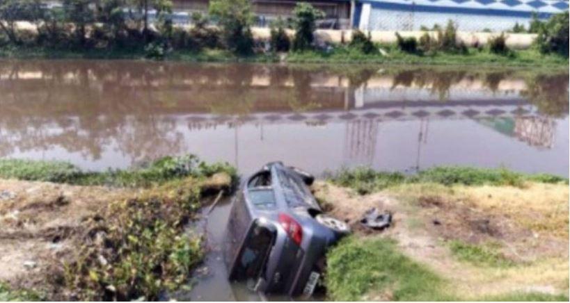 जम्मू नहर में कार गिरने से तीन की मौत, एक नवजात लापता
