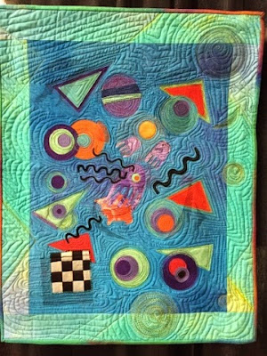 Kandinsky Goes to the Bahamas by Daniela Schupp