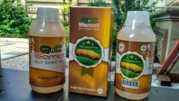 Obat Syaraf Kejepit Herbal QnC Jelly Gamat