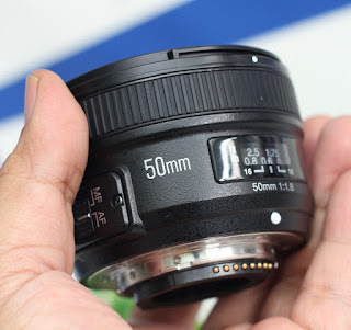 Jual Lensa Fix 50mm AFS for Nikon - Yn-Yongnuo 50mm