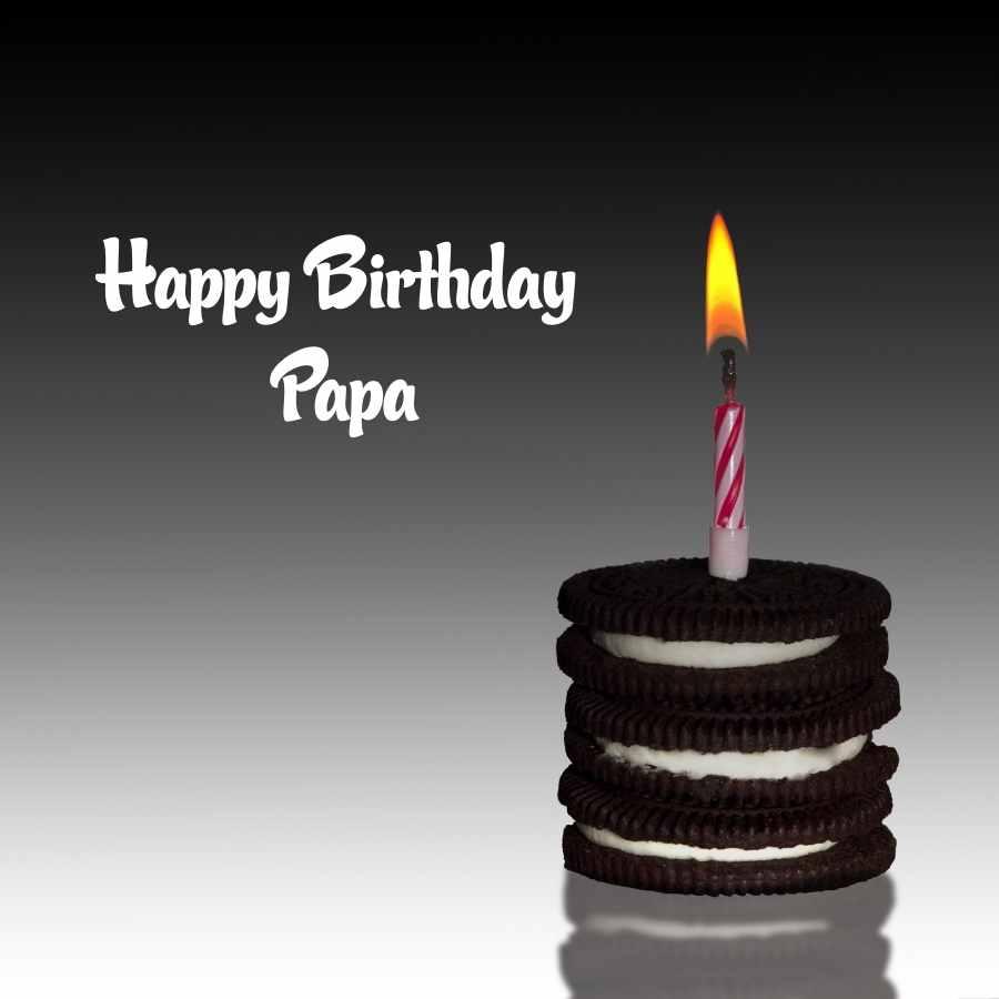 happy birthday papa cake