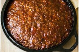 Old Fashioned Skillet Meatloaf Recipe