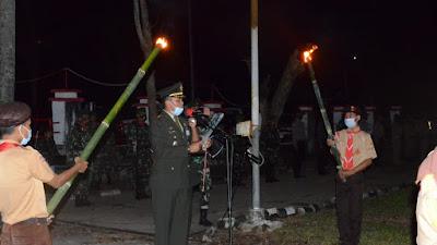 Renungan Suci, Warnai HUT Ke-75 Republik Indonesia di Sidrap