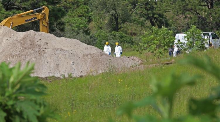 Macabro hallazgo en Narcofosa de Zapopan: Al menos 75 bolsas con cuerpos desmembrados fueron encontrados en bosque de Jalisco