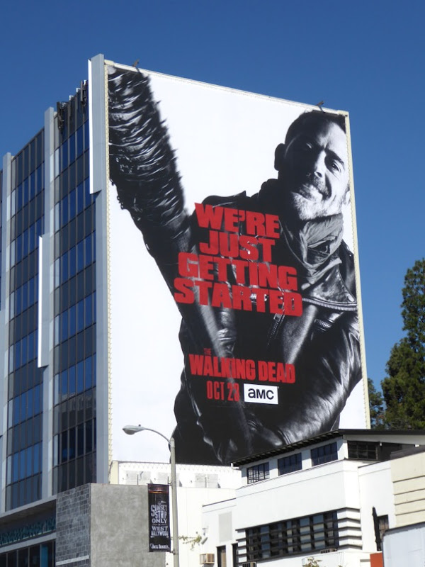 Walking Dead season 7 giant billboard