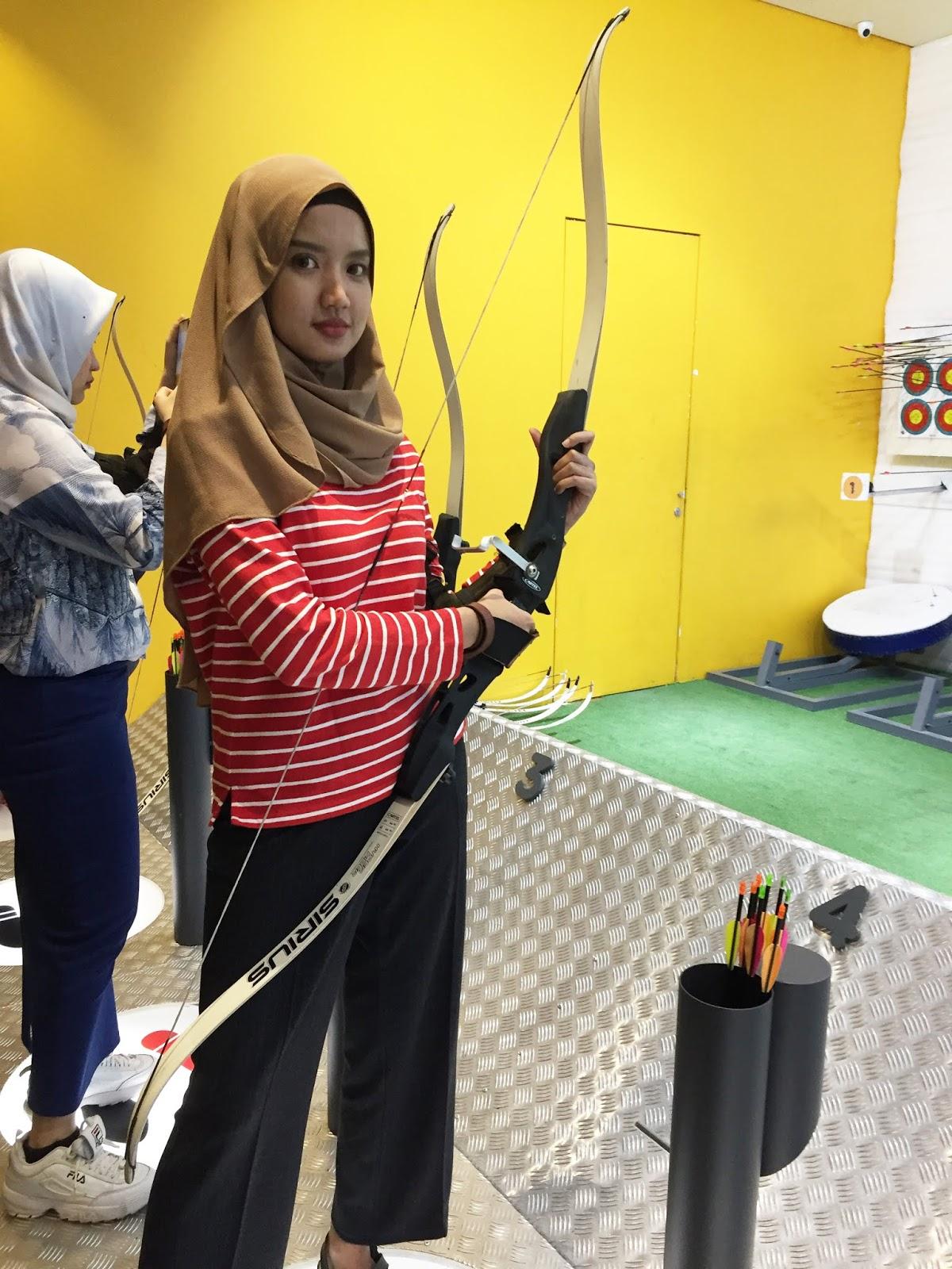 memanah di jakarta shoot archery zone