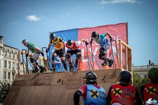 evry riders skatecross bladercross downill freeskate freestyle icecrash