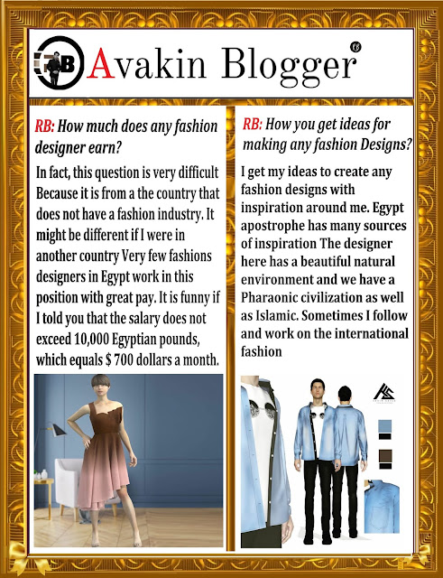 3d Fashion Designer Karim Sayed Egypt Illustrator