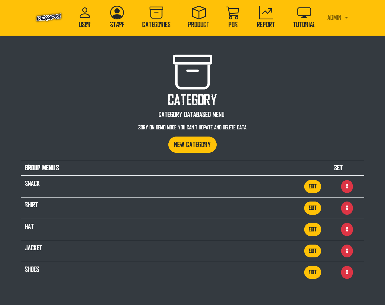 aplikasi toko keren dengan website
