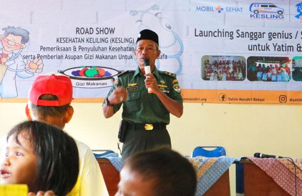Yatim Mandiri Bekasi Launching Sanggar Genius di Babelan