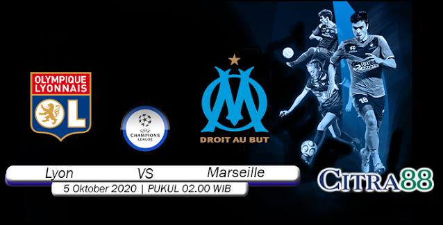 Prediksi Bola Lyon Vs Marseille 5 Oktober 2020