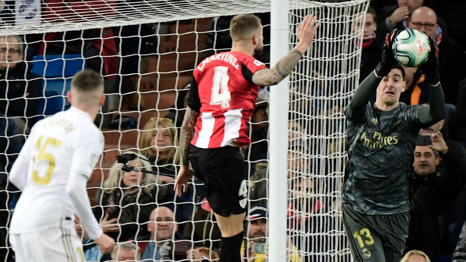 Courtois criticises real madrid and Athletic Bilbao match