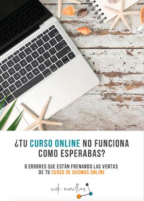 Guía 8 errores que están frenando las ventas de tu curso de idiomas online