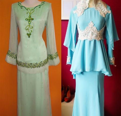 Model Baju Kurung Modern Pendek 2016