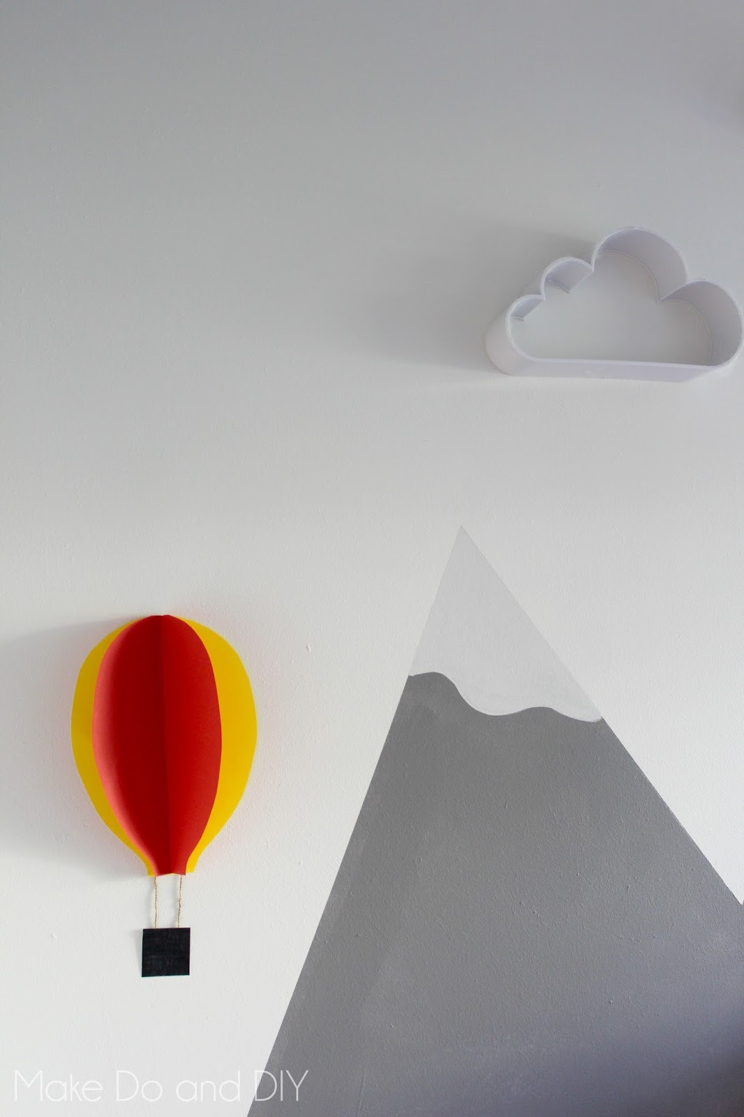 craft tutorial - 3D balloons ~ Make Do and DIY