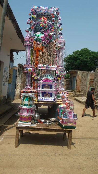 बैराड़ में मातमी धुन के साथ निकले ताजिये | BAIRAD NEWS
