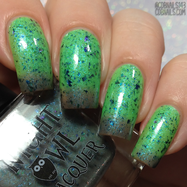 Night Owl Lacquer-I've Spent Too Long in the Darkness