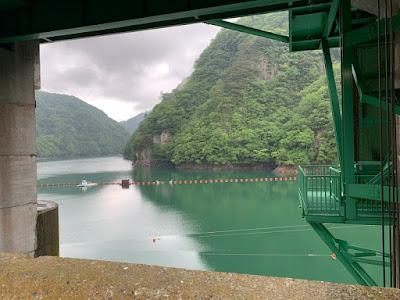 五十里ダム湖