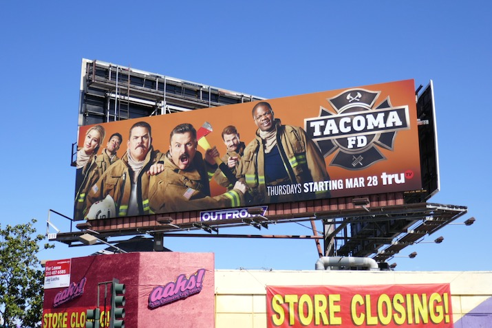 Tacoma FD season 1 billboard