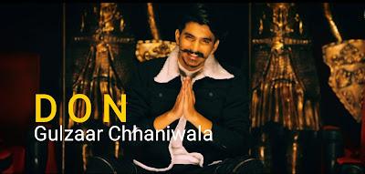 Gulzaar Chhaniwala latest haryanvi song DON