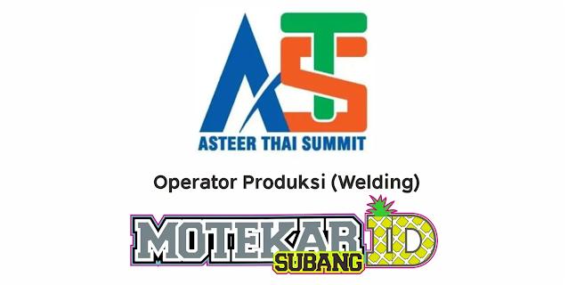 Lowongan Kerja PT Asteer Thai Summit Februari 2021 - Motekar Subang