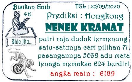 Syair HK Nenek Kreamat