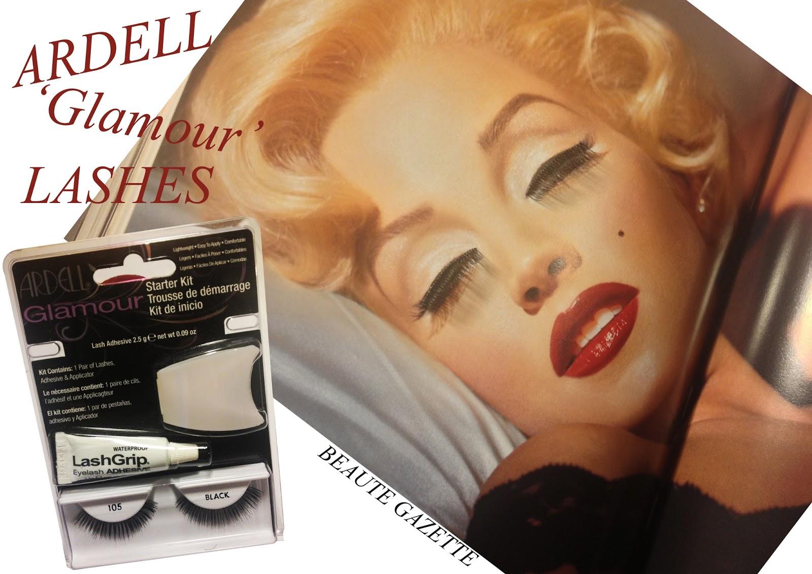 51677b59092 Beauté Gazette: ARDELL 'Glamour' Lashes Starter Kit