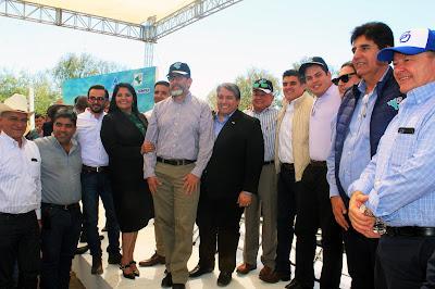 Asiste alcalde Ramón Díaz al proyecto Fuerza Mayo-Yaqui
