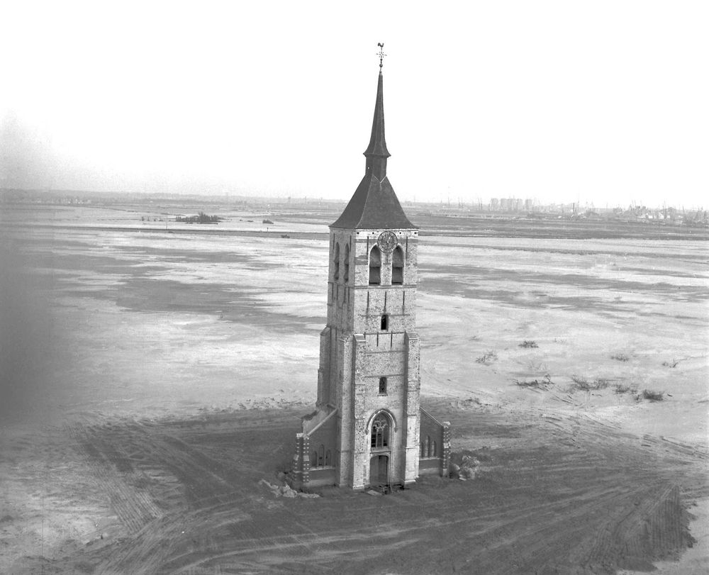 The tower of the St. Laurence church of Wilmarsdonk