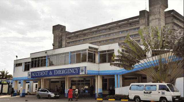 Kenyatta Hospital in Nairobi