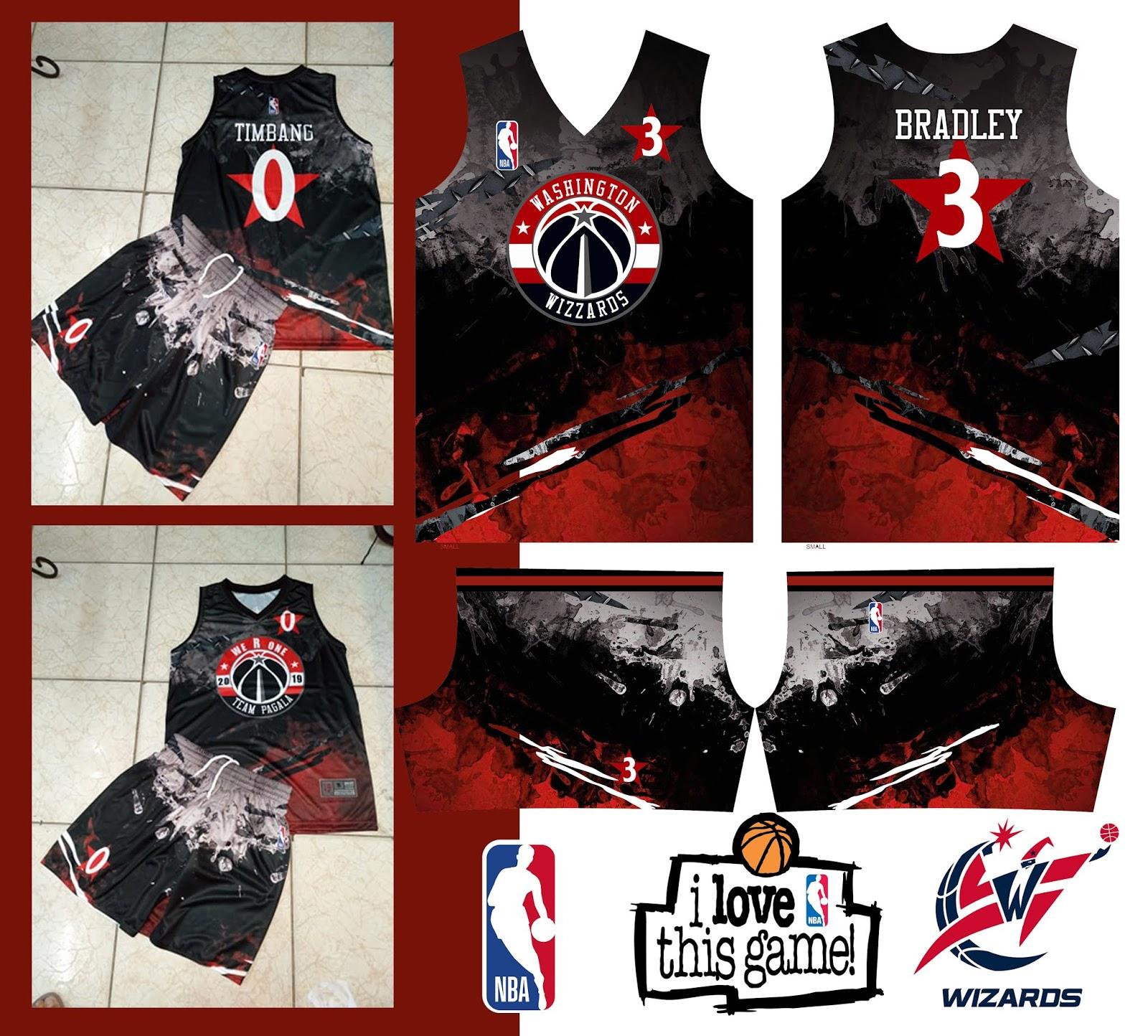 Nba Full Sublimation Basketball Jersey Design
