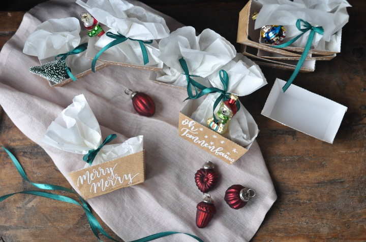 DIY Christmas Boxes, quick and easy to do, they make the perfect Christmas Calendar