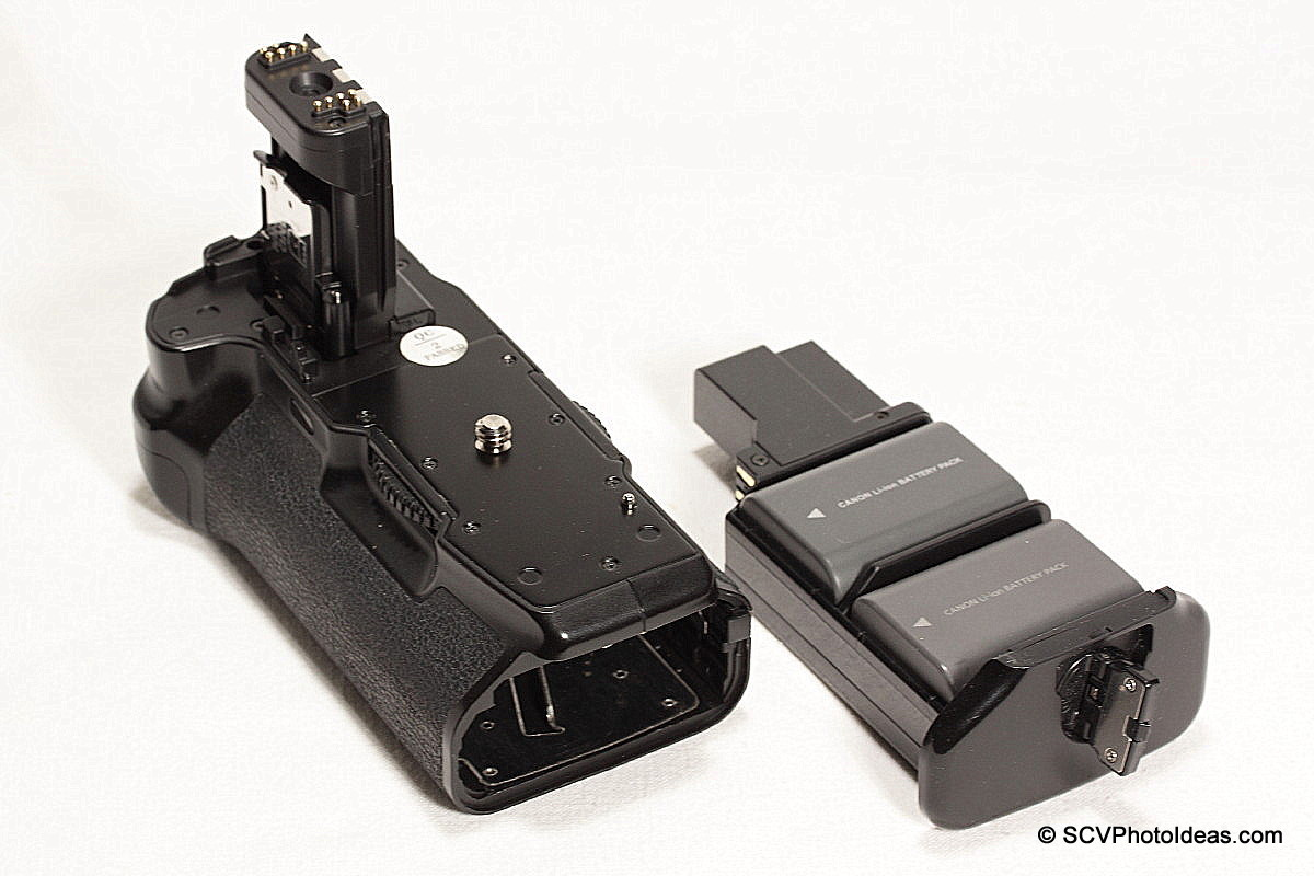 Canon EOS BG-E3 - 2 x NB-2LH battery tray